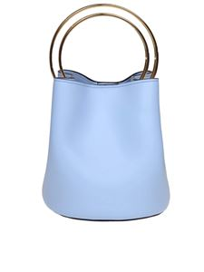 Marni - Pannier bag in light blue leather