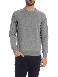 Kangra Cashmere - Pullover in light gray melange