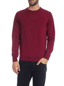 Kangra Cashmere - Pullover in purple color
