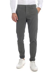 Dondup - Gaubert trousers in sage green and blue