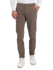 Dondup - Gaubert trousers in beige knitted fabric