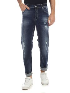 Dondup - Blue Spike jeans in faded effect