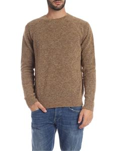 Dondup - Beige pullover in knitted fabric