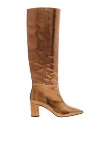 Casadei - Visione boots in golden color