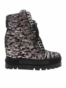 Casadei - Galactus boot in black and silver