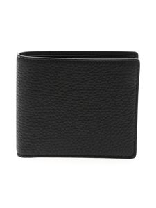 Maison Margiela - Hammered leather wallet in black