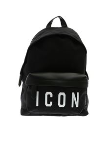 Dsquared2 - Icon backpack in black