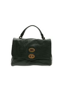 Zanellato - Postina S bag in dark green Lustro line
