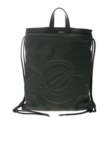 Zanellato - Tote Multi F bag in dark green Lustro line