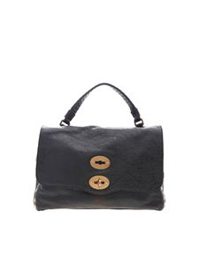 Zanellato - Postina S bag in black Lustro line