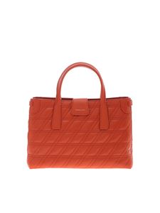 Zanellato - Metropolitan S bag in orange Zeta line