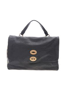 Zanellato - Postina M bag in black Lustro line