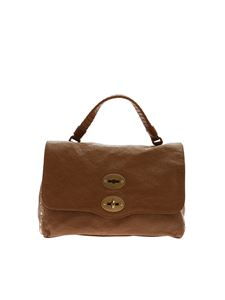 Zanellato - Postina S leather bagin tan color Luster line