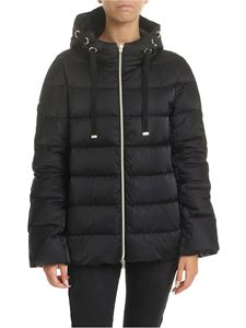 Herno - Quilted black down jacket