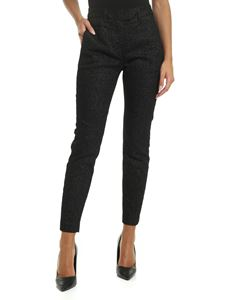 Dondup - Perfect trousers in black lamé
