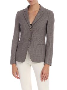 Dondup - Houndstooth single-breasted jacket