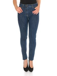 Moschino - Teddy jeans in blue cotton