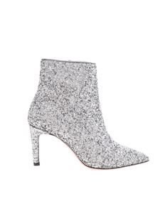 Parosh - Ankle boots in silver glitter