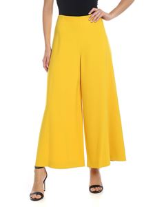 Vivetta - Crop trousers in yellow