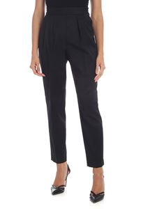 Calvin Klein - Black high waist trousers