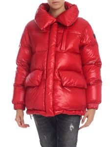 Woolrich - Piumino Alquippa Puffy rosso