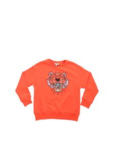Kenzo - Tiger sweatshirt in orange