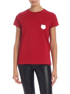 Kenzo - Tiger Crest crewneck t-shirt in red
