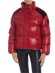 Moncler - Chouette down jacket in red