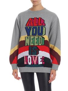 Stella McCartney - All You Need Is Love pullover  in gray