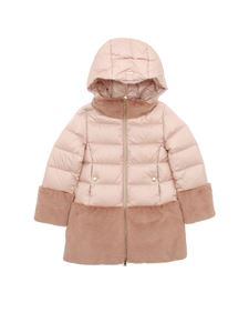 Herno - Quilted padded jacket in pink