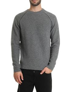 Zanone - Virgin wool and cashmere pullover in gray