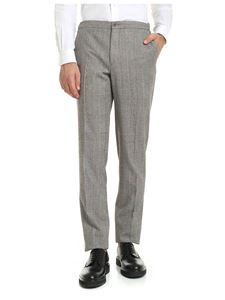 Incotex - Brown Prince of Wales Check trousers