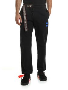 Off-White - Black trousers with belt