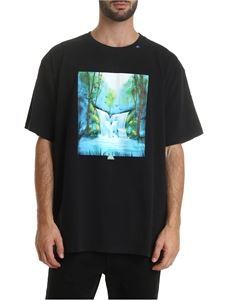 Off-White - Waterfall T-shirt in black