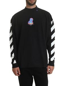 Off-White - Diag Thermo T-shirt in black
