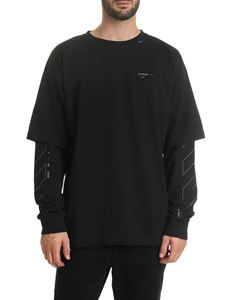 Off-White - Diag Unfinished t-shirt in black