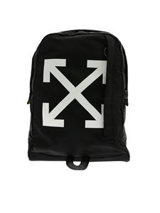 Off-White - Easy backpack in black with white logo