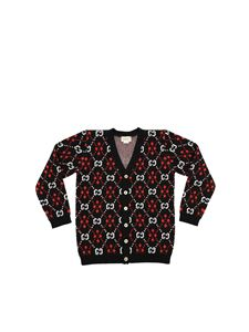 Gucci - Black cardigan with GG motif