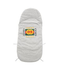 Gucci - GG printed sleeping bag in grey