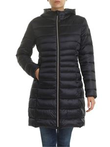 Save the duck - Quilted effect down jacket in blue