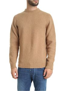 Fedeli - Wool and cashmere pullover in beige