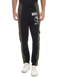 Moschino - Double Question Mark cargo pants in green