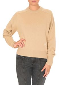 Chloé - Pullover in cashmere Barley Brown