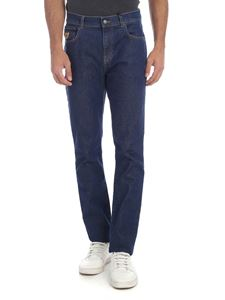 Moschino - Blue jeans with Moschino Teddy Bear