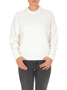 Chloé - Merino wool pullover in Iconic Milk color
