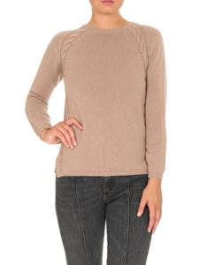 Max Mara - Giotpi pullover in hazelnut color