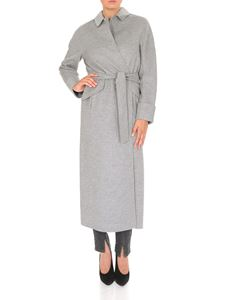 S Max Mara - Dora coat in wool and angora