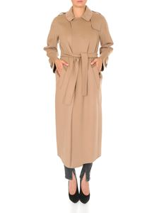 S Max Mara - Trench coat in wool and angora