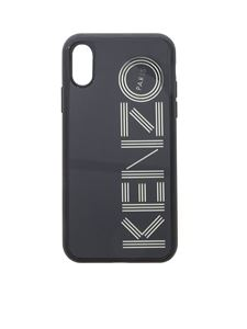 Kenzo - Cover in black neon for I phone X and Xs