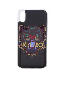 Kenzo - Tiger cover in black for I Phone X and Xs